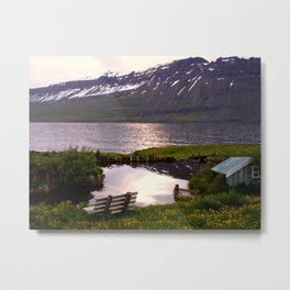 Seydisfjordur, Iceland Metal Print
