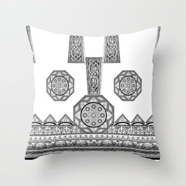 Grecian Holiday Revisited! Throw Pillow