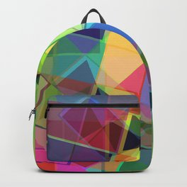 21st Century Stained Glass Backpack