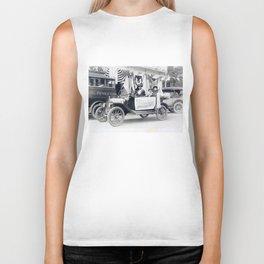 Women's Suffrage Movement in Oregon (September 23, 1916) Biker Tank