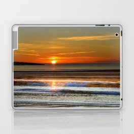 Silver and Gold Sunset Laptop & iPad Skin