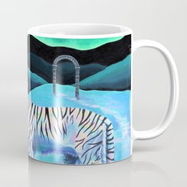 Sweet Tiger Through Archway III Coffee Mug