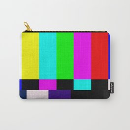 No Signal TV Carry-All Pouch