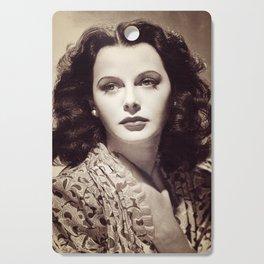 Hedy Lamarr, Hollywood Legend Cutting Board