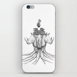 Rhino Tree iPhone Skin