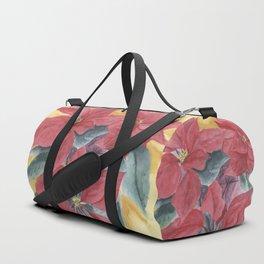 Poinsettia 2 Duffle Bag