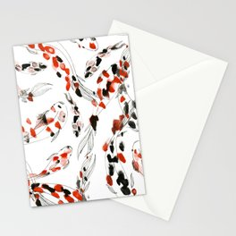 Living Jewel: Koi Stationery Cards