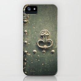 Doorknocker iPhone Case
