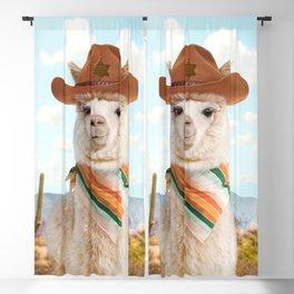 Cowboy Alpaca Blackout Curtain