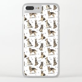The German Shepherd Dog Clear iPhone Case
