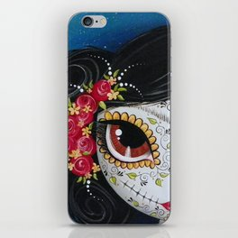 Frida Day Of The Dead iPhone Skin