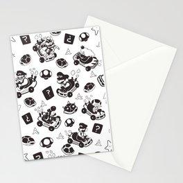 Mario Kart Pattern Stationery Cards