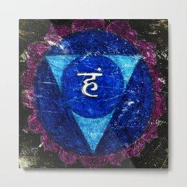 Vishuddha or Vishuddhi Metal Print