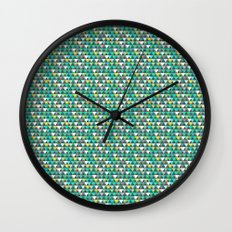 Aqua Mountains - Lumberjack Attack Wall Clock