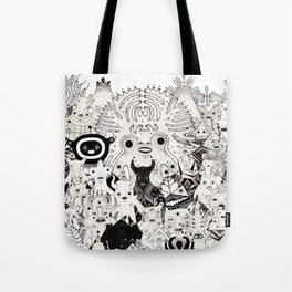 Skool Daze ii Tote Bag