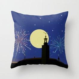 Stockholm Celebration Throw Pillow