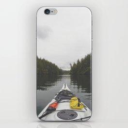 Live the Kayak Life iPhone Skin