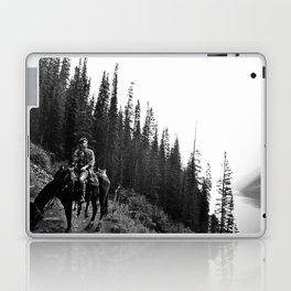 Man on a Horse Laptop & iPad Skin