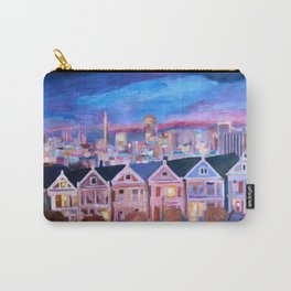 San Francisco - Painted Ladies - Alamo Sq Carry-All Pouch
