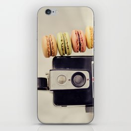 A Brownie and some macarons iPhone Skin