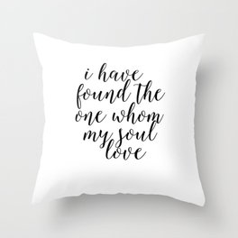 Song Of Solomon,Bible Verse,Bible Cover,Scripture Art,Home Decor,Quote Prints,Typography Print,Wall Throw Pillow
