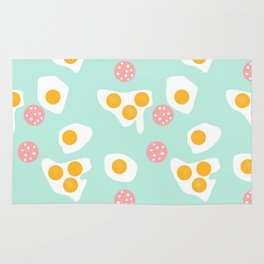 #Abstract #pattern #eggs Rug
