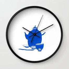 Tea Set Wall Clock