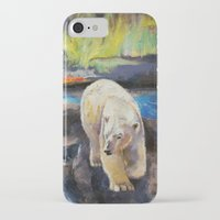northern lights iPhone & iPod Cases featuring Northern Lights by Michael Creese