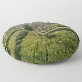 Van Gogh's View  Floor Pillow