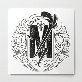 Mh Metal Print