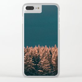 Forest XX Clear iPhone Case
