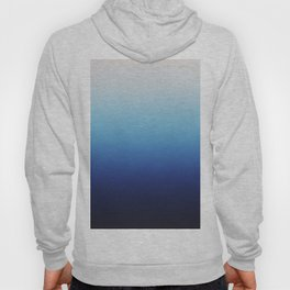 Ombre Blue Hoody
