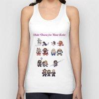 nori Tank Tops featuring Sailor Dwarves of Erebor by Rshido