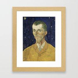 Eugene Boch by Vincent van Gogh Framed Art Print