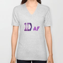 1D as f**k Unisex V-Neck