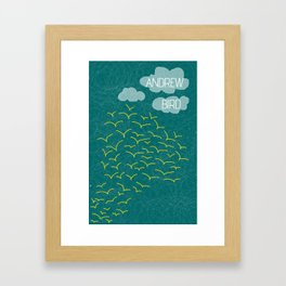 Andrew Bird 'Flock' Framed Art Print