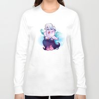 ursula Long Sleeve T-shirts featuring Ursula by breakfastjones