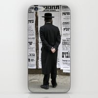 palestine iPhone & iPod Skins featuring Mea Shearim Palestine by Sanchez Grande