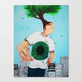 Treeman Canvas Print