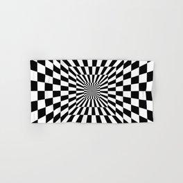 Optical Illusion Hallway Hand & Bath Towel
