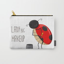 Ladybug makeup Carry-All Pouch