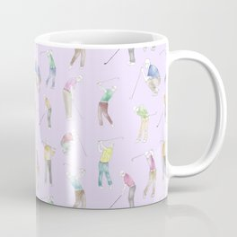 Watercolor Golfers // Magnolia Coffee Mug
