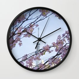 Tokyo Skytree Wall Clock
