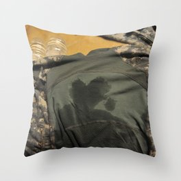Guarding My Heart Throw Pillow