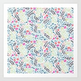 Teeny Tiny Floral Art Print