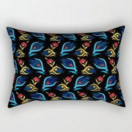 Turkish tulip - Ottoman tile pattern 2 Rectangular Pillow