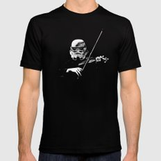 Dark Violinist Warrior MEDIUM Mens Fitted Tee Black