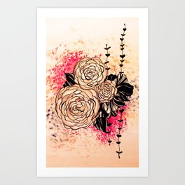 flora 2 Art Print