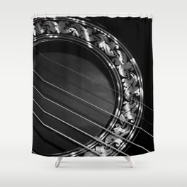 Still my guitar Shower Curtain