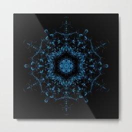 Spirit Resonance Mandala Metal Print